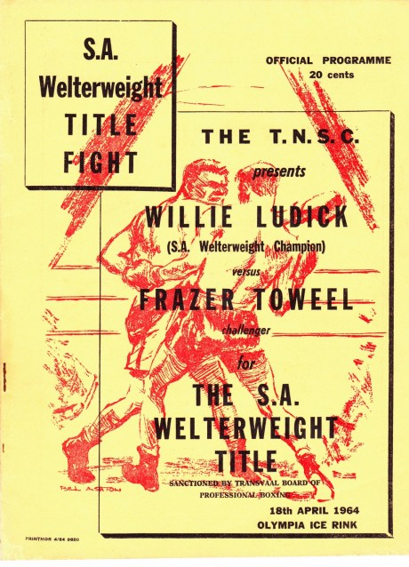 FRAZER TOWEEL VS WILLIE LUDICK