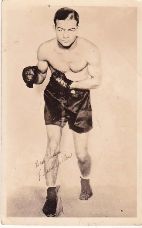 FREDDIE MILLER SIGNED POST CARD