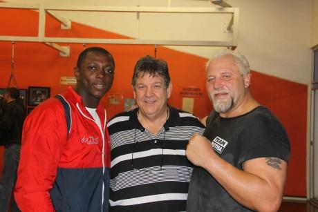 Flo Simba, Jeff Ellis and Fransie Botha