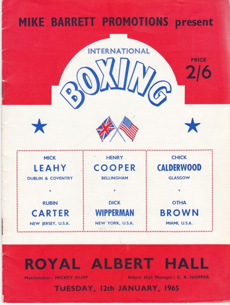 HENRY COOPER VS DICK WIPPERMAN