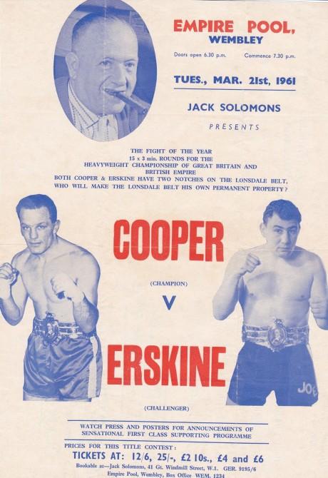 HENRY COOPER VS ERSKINE