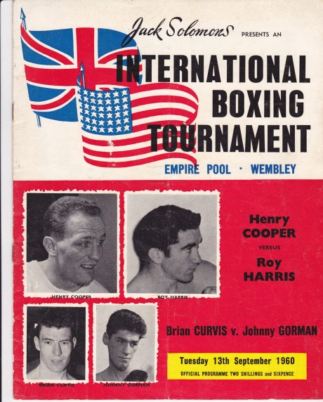 HENRY COOPER VS ROY HARRIS