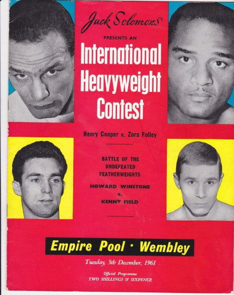 HENRY COOPER VS ZORA FOLLEY