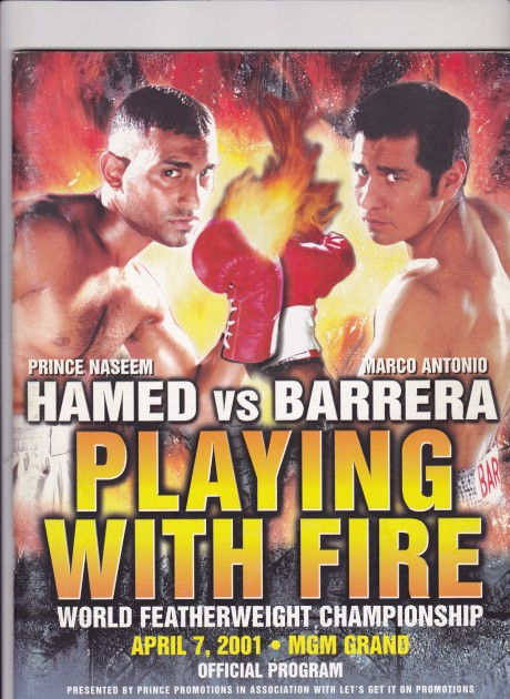 Hamed vs Marco Barrera