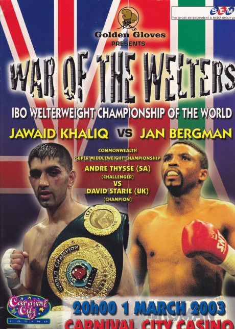 JAWAID KHALIQ VS JAN BERGMAN