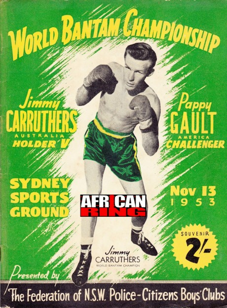 JIMMY CARRUTHERS VS PAPPY GAULT PROGRAM