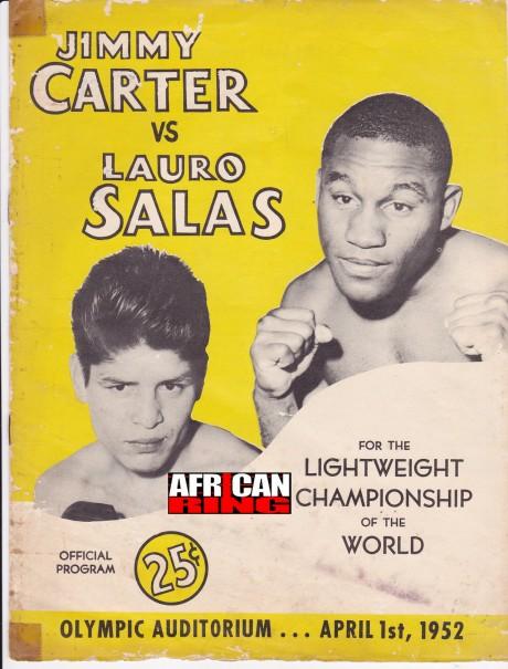 JIMMY CARTER VS LAURO SALAS