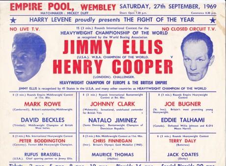 JIMMY ELLIS VS HENRY COOPER