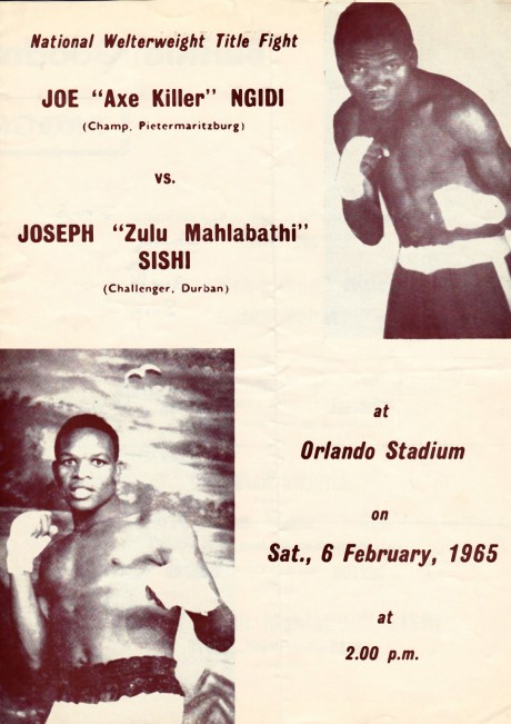 JOE NGIDI vs JOSEPH SISHI