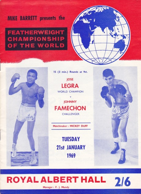 JOHNNY FAMECHON VS JOSE LEGRA PROGRAM