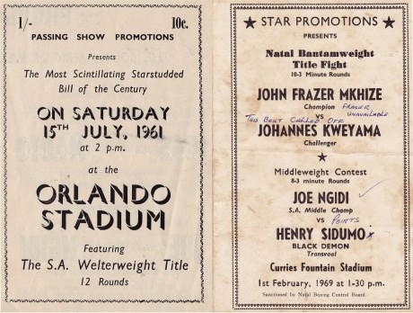 Joe Ngidi vs Henry Siduma 1969
