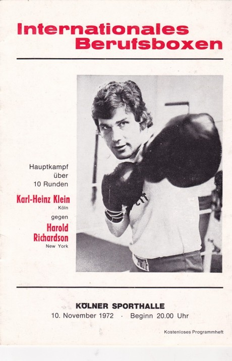 KARL-HEINZ KLEIN VS HAROLD RICHARDSON