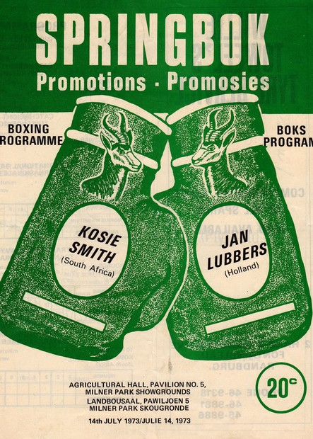 KOSIE SMITH VS JAN LUBBERS