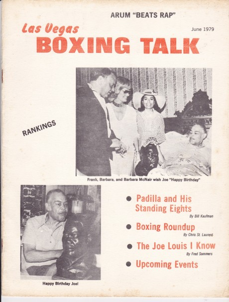 LAS VEGAS BOXING TALK