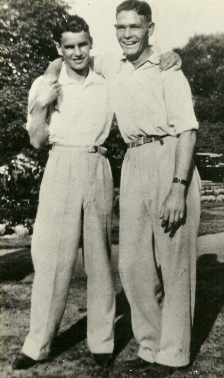 Laurie Stevens and Eddie Peirce