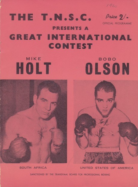 MIKE HOLT VS BOBO OLSON PROGRAM