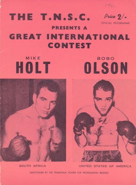 MIKE HOLT VS BOBO OLSON PROGRAM