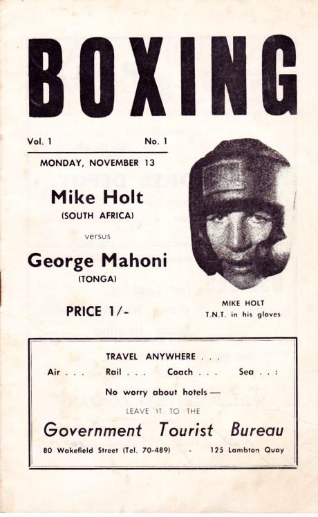 MIKE HOLT VS GEORGE MAHONI PROGRAM