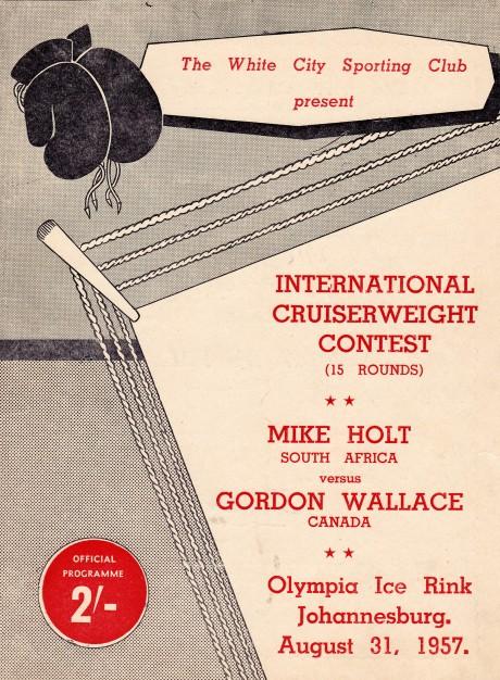 MIKE HOLT VS GORDON WALLACE PROGRAM