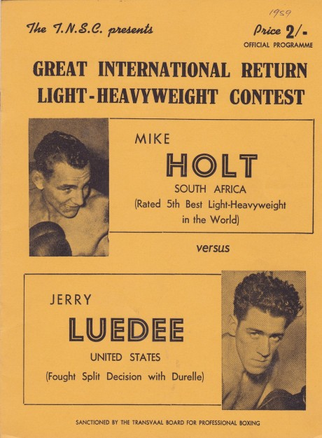 MIKE HOLT VS JERRY LUEDEE PROGRAM