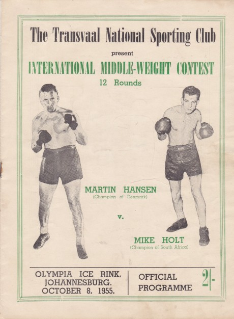 MIKE HOLT VS MARTIN HANSEN PROGRAM