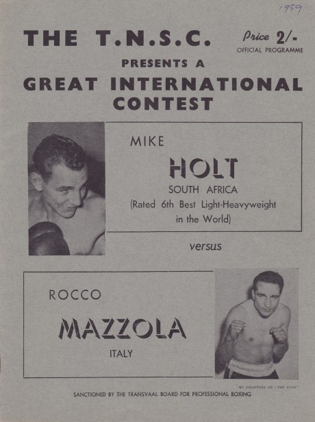 MIKE HOLT VS ROCCO MAZZOLA PROGRAM