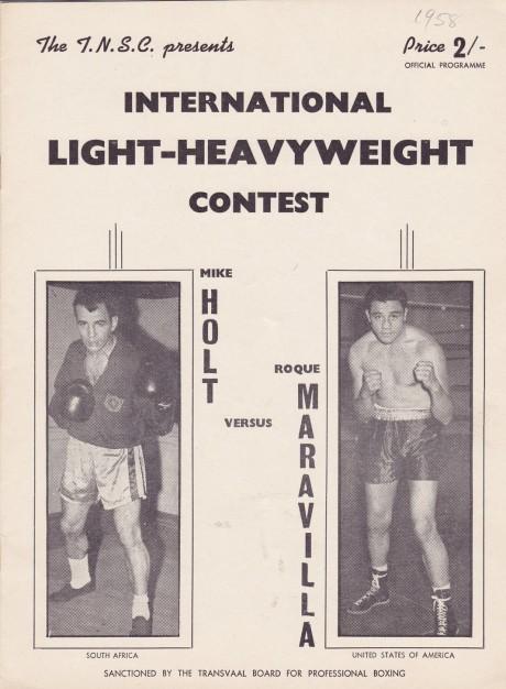 MIKE HOLT VS ROQUE MARAVILLA PROGRAM