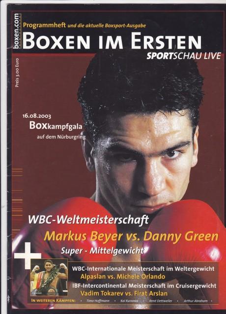 Markus Beyer vs Danny Green