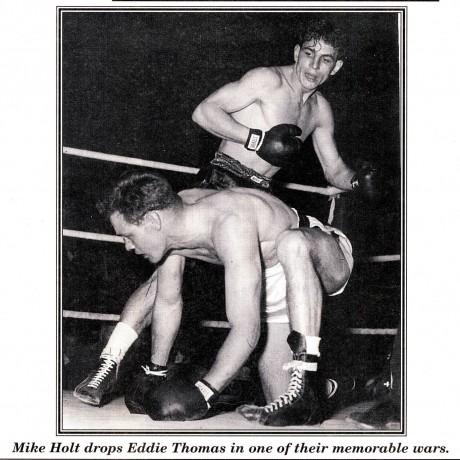 Mike Holt drops Eddie Thomas