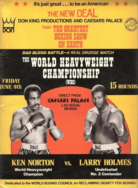 Norton vs Holmes PRESS KIT