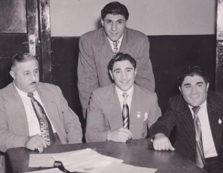 Papa,Vic, Alan and Maurice Toweel