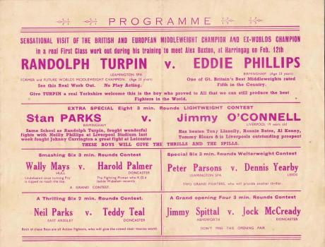 RANDOLPH TURPIN V EDDIE PHILLIPS 1952