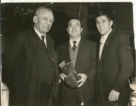 Reg Guttridge, Joe Bekket and Willie Toweel