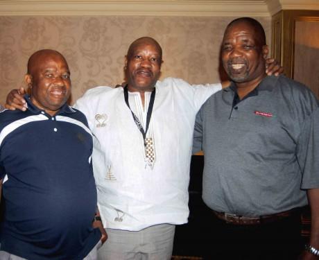 Reuben Rasodi,  Archie & Mzi
