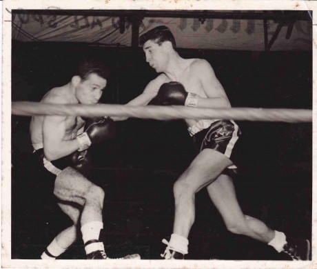 Robert Cohen and Willie Toweel World title ended in a draw