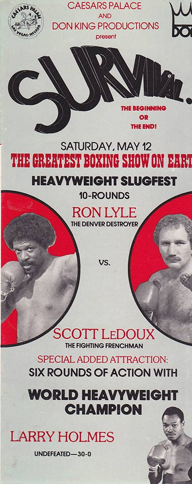 SCOTT-LeDOUX-VS-RON-LYLE-PROMOTION-LEAFLET