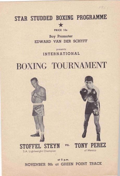 STOFFEL STEYN VS TONY PEREZ