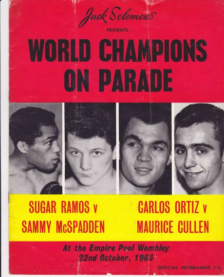 SUGAR RAMOS VS SAMMY McSPADDEND AND CARLOS ORTIZ VS MAURICE CULL