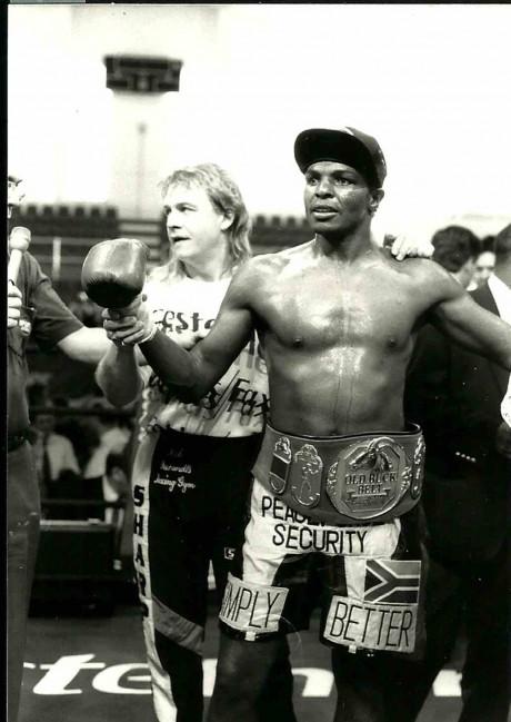 Sugarboy Malinga and Nick Durandt