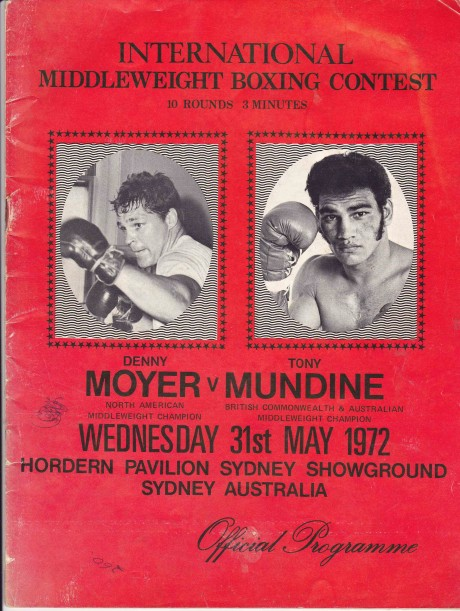 TONY MUNDINE VS DENNY MOYER PROGRAM