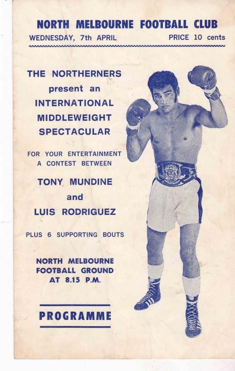 TONY MUNDINE VS LUIS RODRIGUEZ