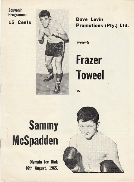 TOWEEL FRAZER VS  SAMMY McSPADDEN
