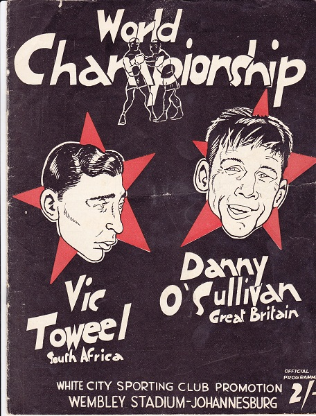 TOWEEL VIC VS DANNY O'SULLIVAN