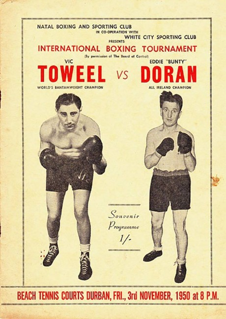 TOWEEL VIC VS EDDIE'BUNTY' DURAN