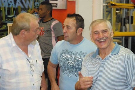 Terry Pettifer, Brian Mitchell and Harold Volbrecht 1