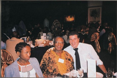 Theo Mthembu and Manny Fernandes