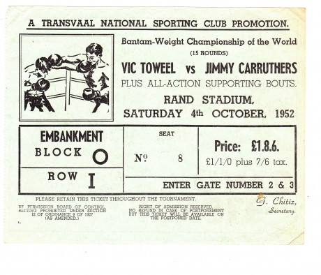 VIC-TOWEEL-VS-JIMMY-CARRUTHER-TICKET