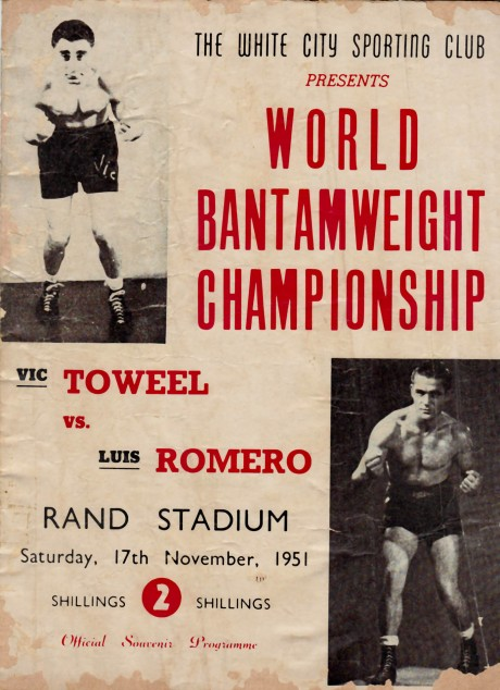 VIC TOWEEL vs LUIS ROMERO