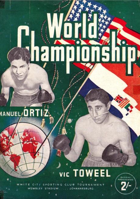 Vic Toweel v Manual Ortiz