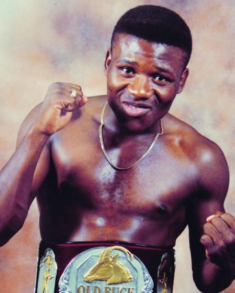 Vuyani Bungu IBO Featherweight Champion 7 February 2004